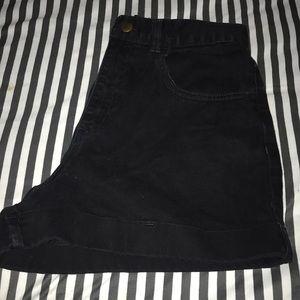 American Apparel Shorts - High waisted shorts